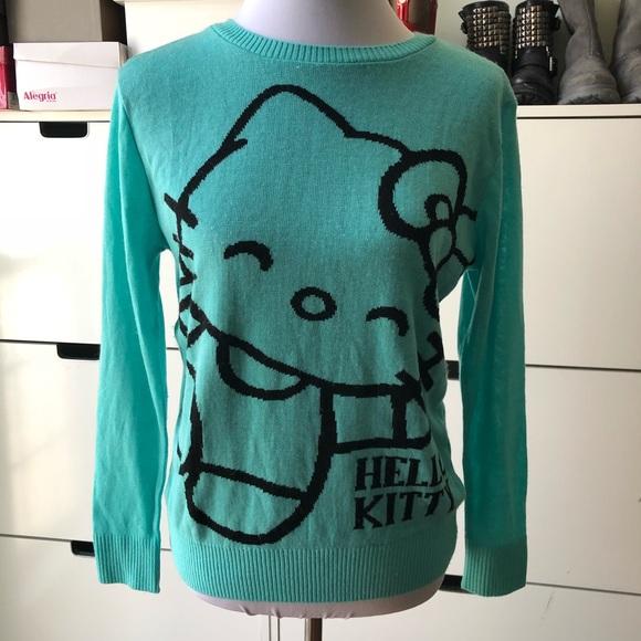 afd7fff73 Hello Kitty Sweaters - Hello Kitty Thin Mint Sweater